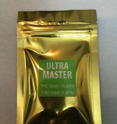 Ultra Master Green Gold Shatter