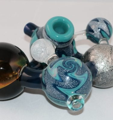 Gateson Recko Glass Galaxy Marble Pipe