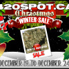 420 SPOT white russian CHRISTMAS SALE AD