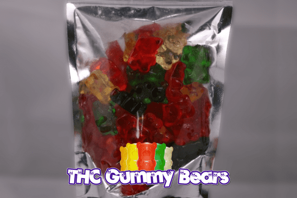 Assorted Gummy Bears (1000mg per bag)