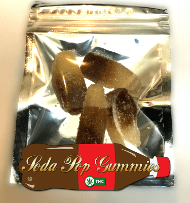 Cola Gummy Candies (100mg per bag)