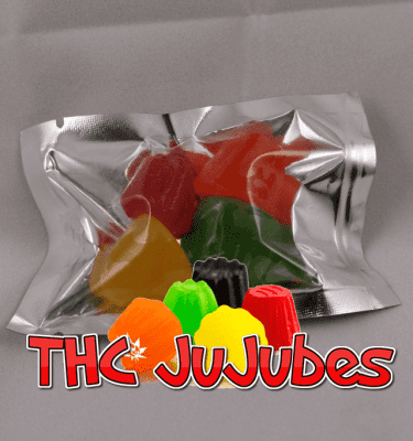 Assorted Gummy Candies (100mg per bag)