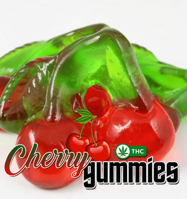 Cherry Gummies (100mg per bag)