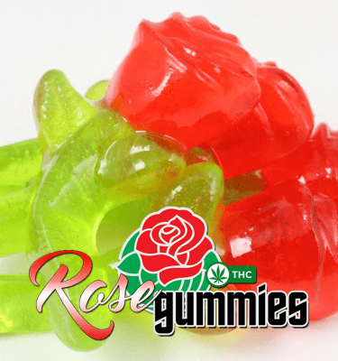 Rose Gummies (100mg per bag)