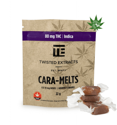 Indica Cara-Melts (80mg THC)