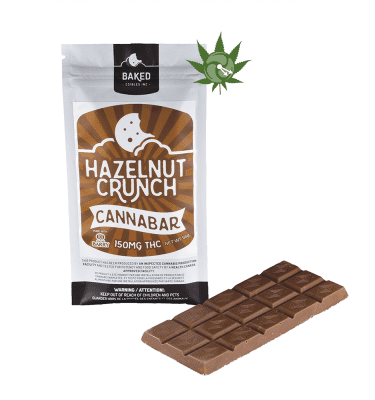 Hazelnut Crunch Cannabar (150mg THC)