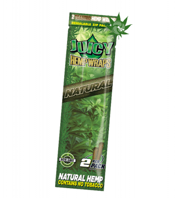 Juicy Jay Natural Hemp Wraps