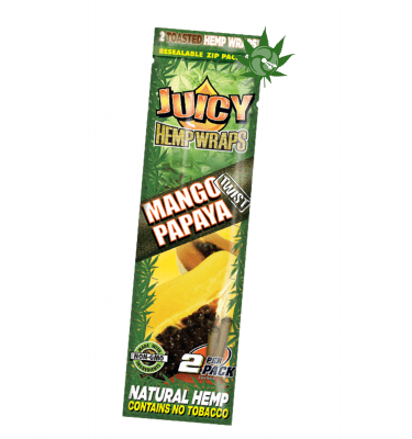 Juicy Jay Mango Papaya Hemp Wraps