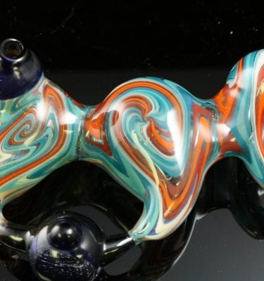 Dave Eckhart Mini Headie with Marble 4.5″