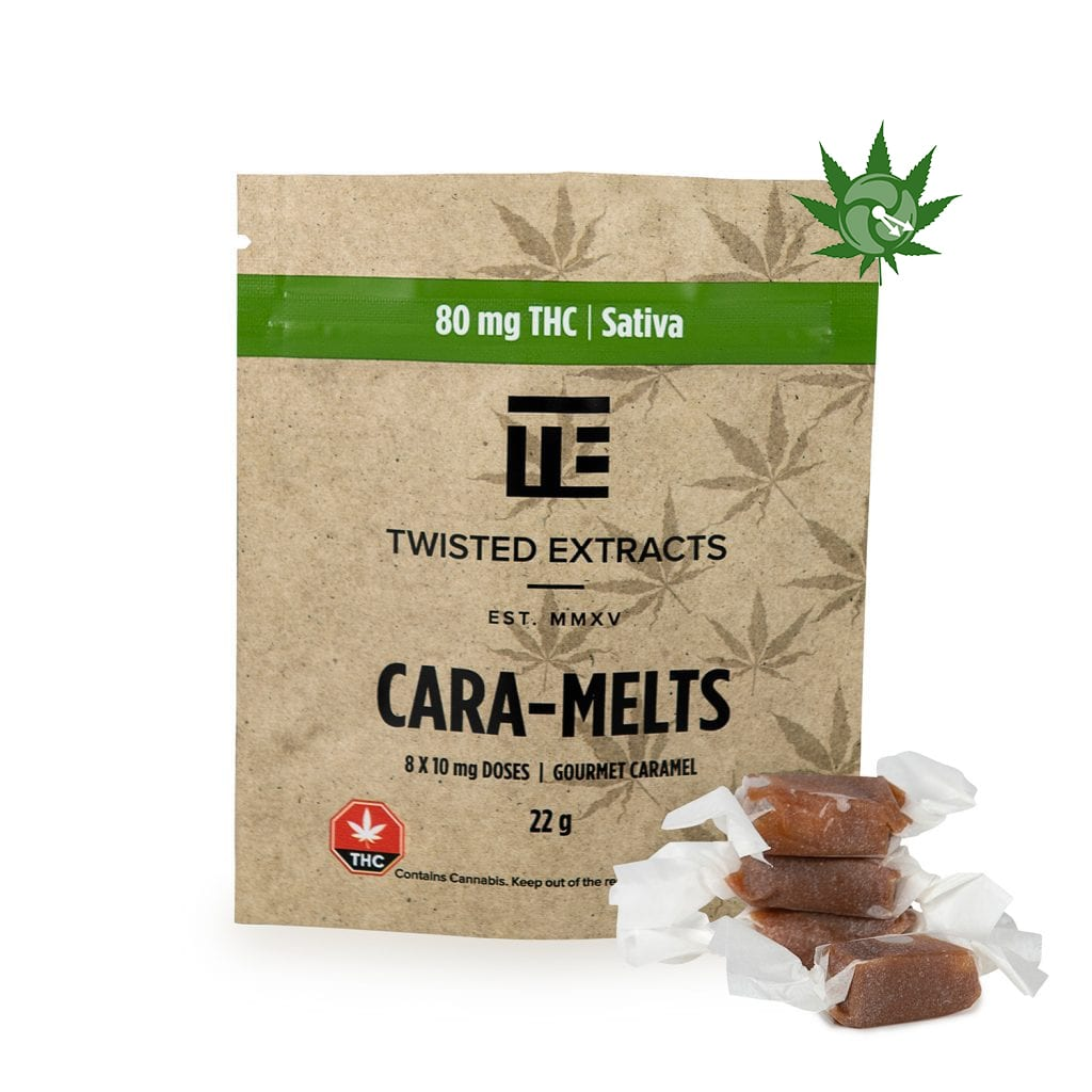 Sativa Cara-Melts (80mg THC)