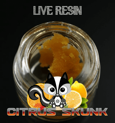 420 Live Resin Citrus Skunk 1g