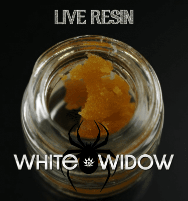 420 Live Resin White Widow 1g