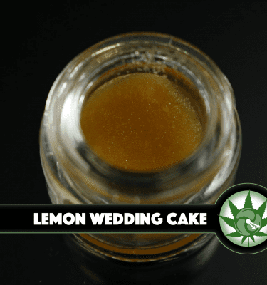 420 Terp Sauce Lemon Wedding Cake 1g