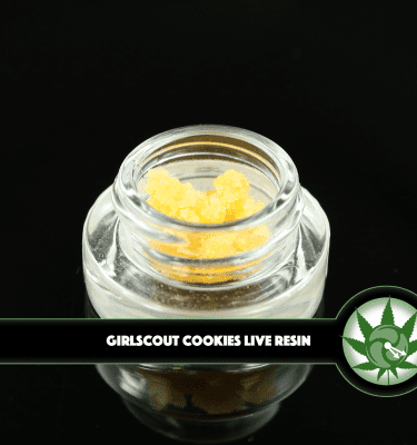 420 Girl Scout Cookies Live Resin (1g Hybrid)