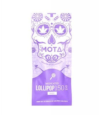 Mota Lollipops 150mg THC (Grape)