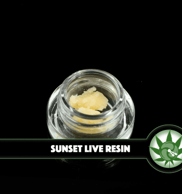 420 Sunset Live Resin (1g Indica)