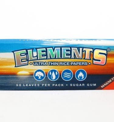 Elements 1 1/4 Ultra Thin Rice Papers