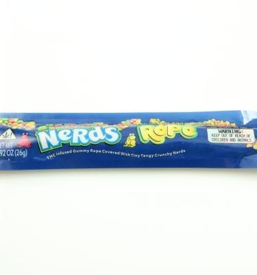 Blueberry Medicated Nerds Rope (400mg)
