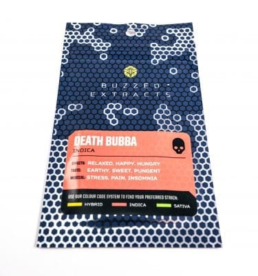 Buzzed Extracts – Death Bubba- Premium Shatter
