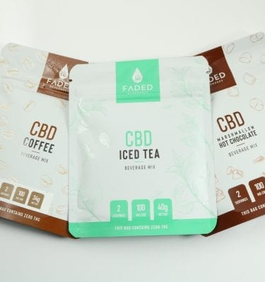 Faded CBD Beverage Mixes