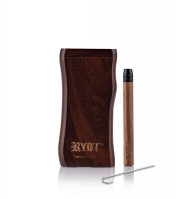 RYOT Wooden Magnetic Dugout with Matching One Hitter